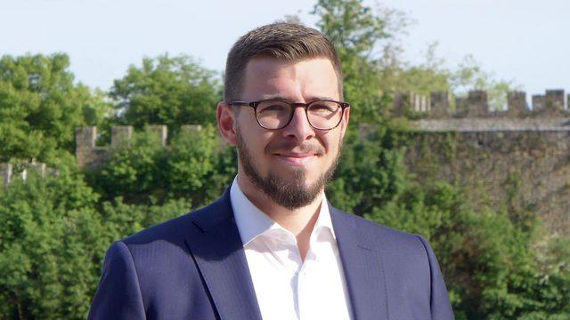 Matthieu Lavoyer, secrétaire général du département des finances et de la santé du canton de Neuchâtel. [RTS - RTS]
