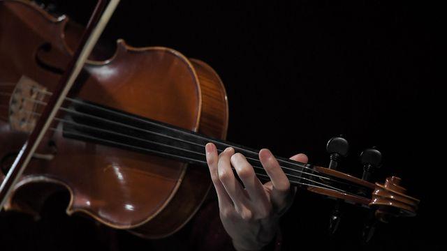 Une personne jouant du violon (image d'illustration). [Loïc Venance - afp]