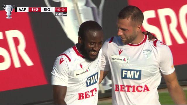 1-16, Aarau – Sion (1-2): Doumbia délivre le FC Sion à la 93ème minute! [RTS]