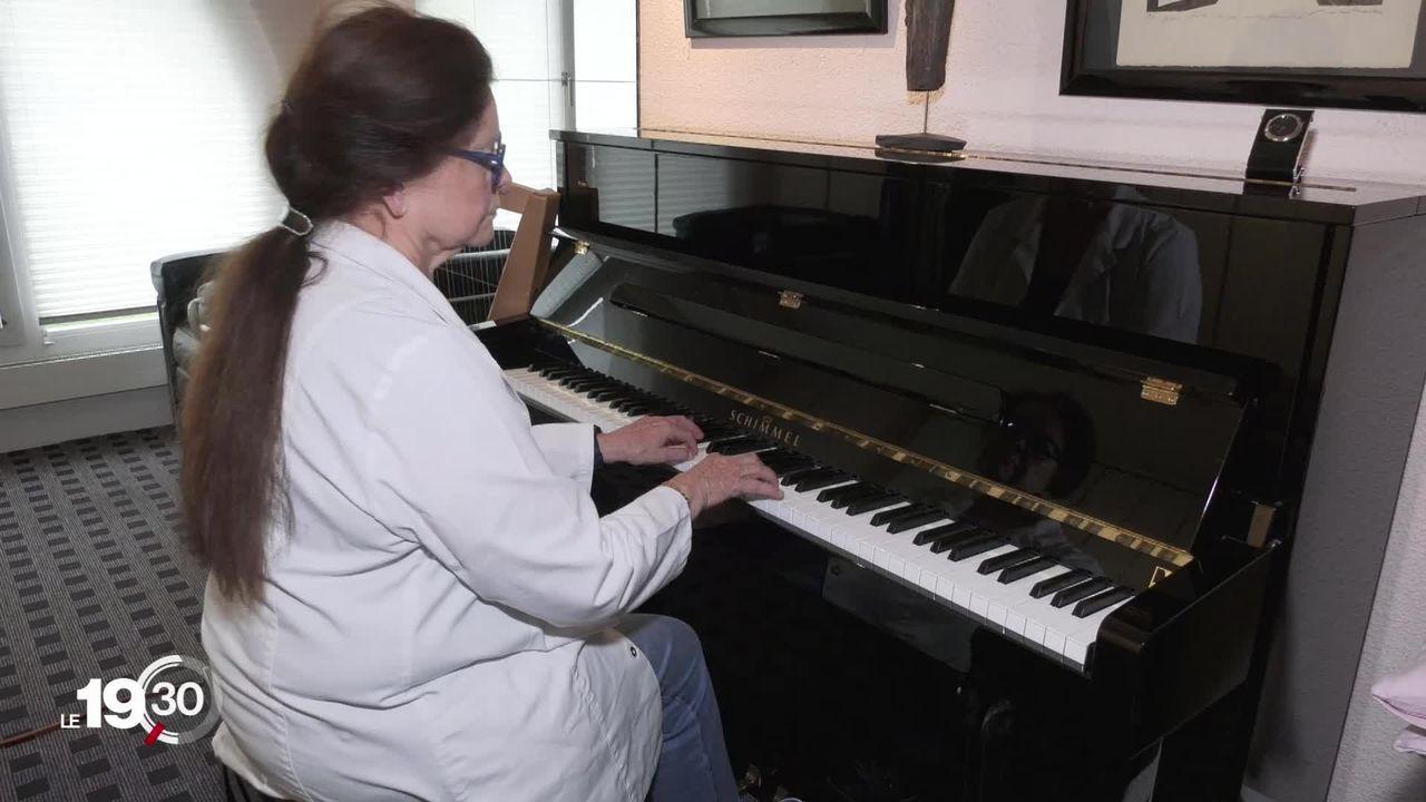 Entre 20 et 30% des musiciens professionnels auraient recours à des bêtabloquants pour gérer leur stress. [RTS]
