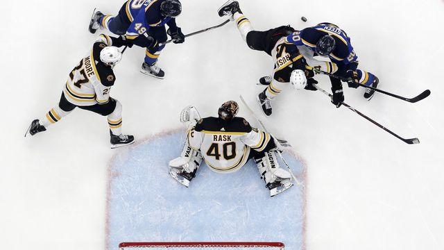 Il y aura bien du hockey sur les patinoires de NHL la saison prochaine. [Jeff Roberson  - Keystone]
