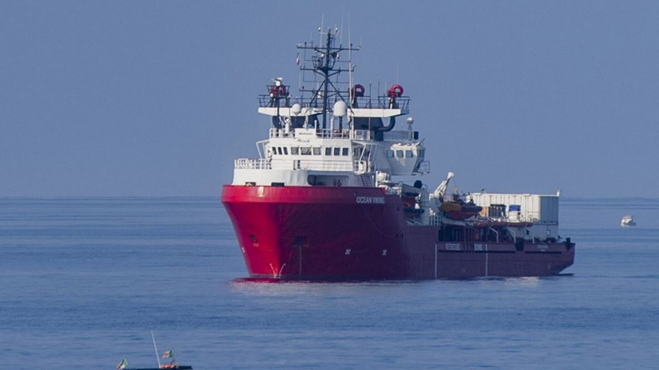 SOS Méditerranée se félicite de la réouverture des ports italiens. [Alessandro Serrano - AFP]