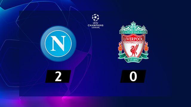 1re j. Gr.E, Naples - Liverpool (2-0): résumé de la rencontre
