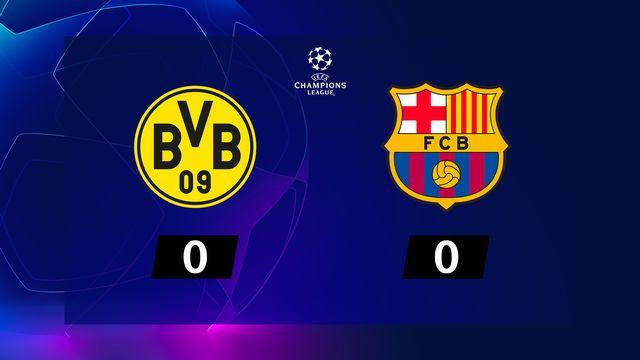 1re j. Gr.F, B. Dortmund - Barcelone (0-0): résumé de la rencontre