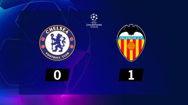 1re j. Gr.H, Chelsea - Valencia (0-1): résumé de la rencontre