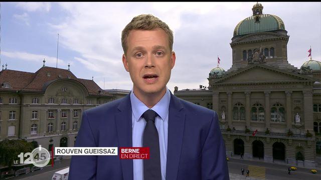 L'avenir de Michael Lauber, procureur de la Confédération, se joue ces jours à Berne. L'éclairage de Rouven Gueissaz [RTS]