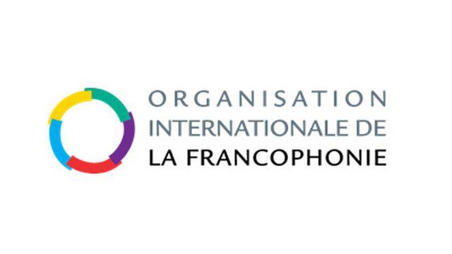 Le logo de l'Organisation internationale de la francophonie, organisatrice du Prix des cinq Continents. [OIF - www.francophonie.org]