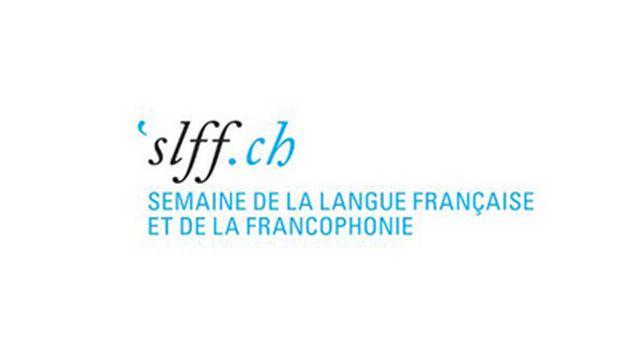 Le logo de la Semaine de la langue française et de la francophonie. [Semaine de la langue française et de la francophonie - slff.ch]