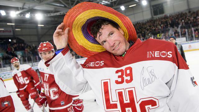 Huet a porté à 267 reprises le maillot du LHC. [Jean-Christophe Bott - Keystone]