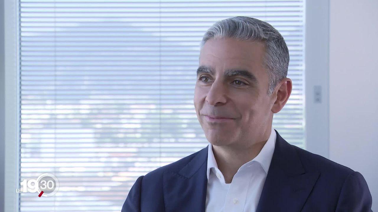 David Marcus est chargé de lancer Libra, la monnaie virtuelle de Facebook courant 2020. Rencontre à Genève. [RTS]