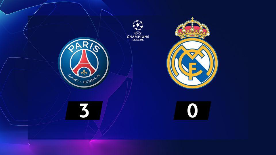 PSG - Real Madrid (3-0)