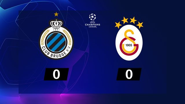 Bruges - Galatasaray (0-0)