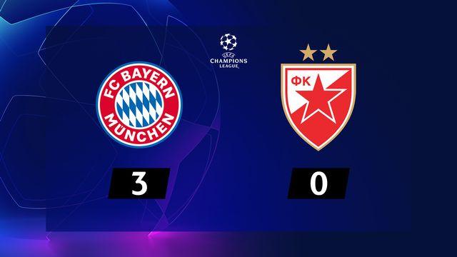 Bayern Munich - ER Belgrade (3-0)