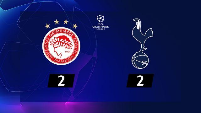 Olympiakos - Tottenham (2-2)