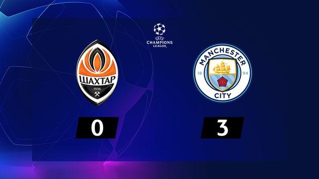 Shakhtar Donetsk - Manchester City (0-3)