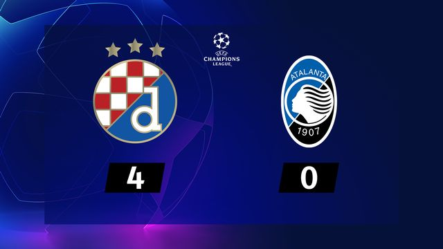 Dinamo Zagreb - Atalanta (4-0)