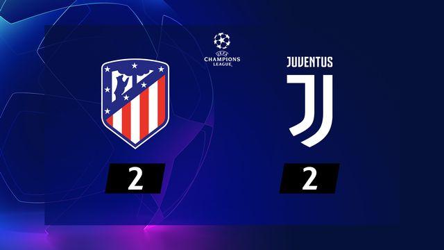 Atlético Madrid - Juventus (2-2)