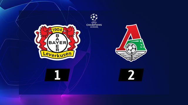 Bayer Leverkusen - Lok.Moscou (1-2)