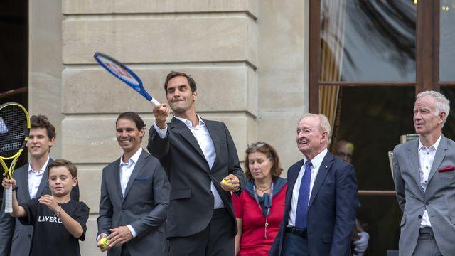 Aux côtés de Rafael Nadal, Rod Laver et John McEnroe, Roger Federer avance décontracté à Genève. L'ambiance d'une ville qu'il adore lui permet d'aborder sereinement cette 3e Laver Cup.