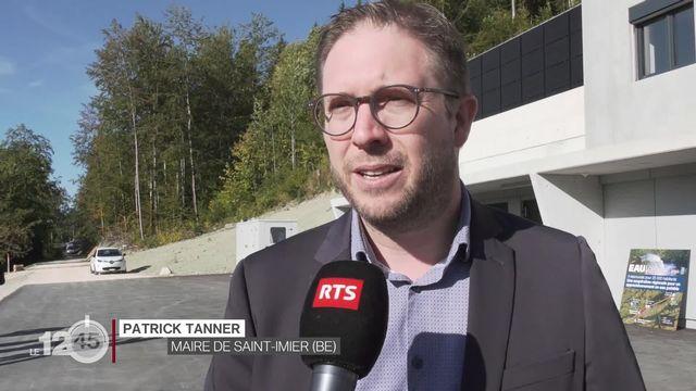 Saint-Imier (BE): mise en fonction d'un nouveau système d'approvisionnement en eau potable. Eclairage, Patrick Tanner. [RTS]