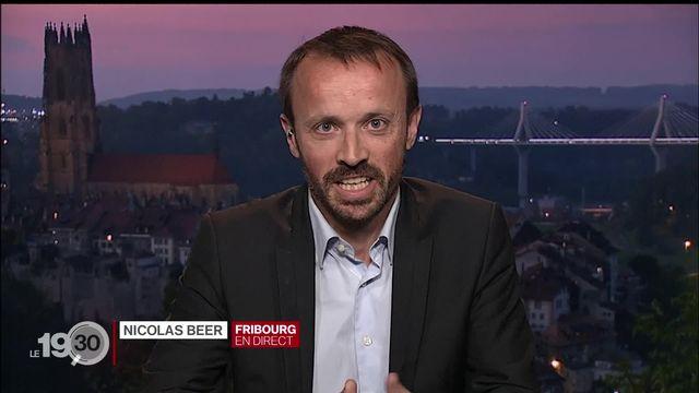 Élections fédérales à Fribourg: les précisions de Nicolas Beer [RTS]