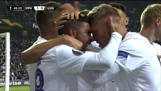 Groupe B, Copenhague - Lugano (1-0): les meilleurs moments du match [RTS]
