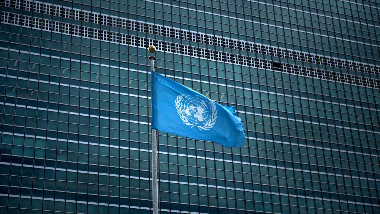 Le siège de l'ONU à New York, où se tient l'Assemblée générale. [Brendan Smialowski - AFP]