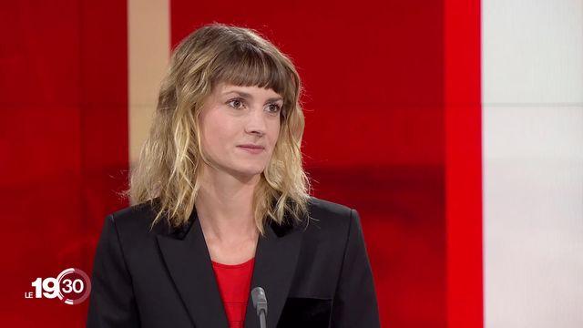"""Aurélie Coulon: """"Les installations d'antennes 5G ont fortement ralenti ces derniers mois"""" [RTS]"""