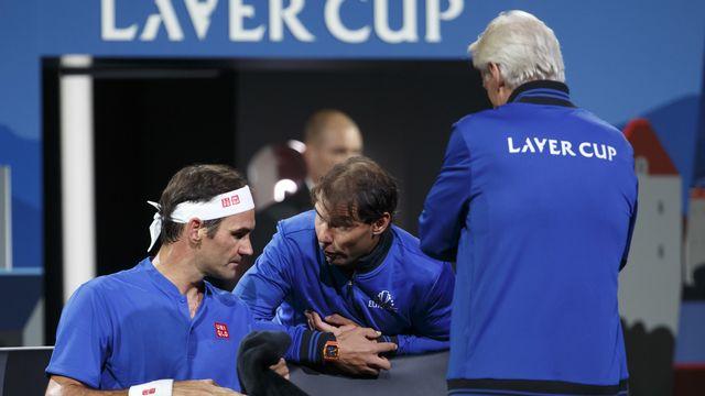 Federer et Nadal ont tous les deux remporté leur simple à Genève. [Salvatore Di Nolfi - Keystone]