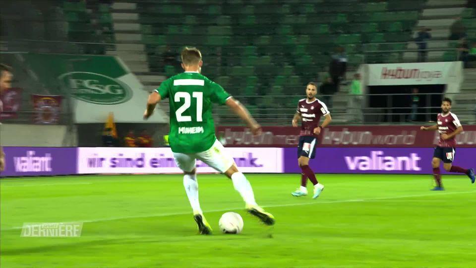 Super League, 7e journée: Saint-Gall – Servette (3-1) [RTS]