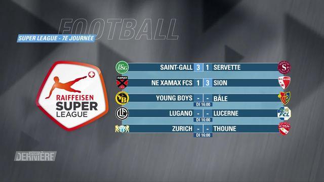 Super League, 7e journée: résultats et classement [RTS]