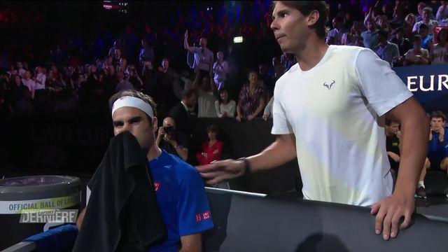 Tennis, Laver Cup: victoire de Federer face à Kyrgios [RTS]