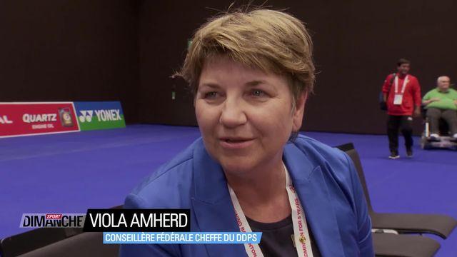 Le Mag: Viola Amherd, conseillère fédérale [RTS]