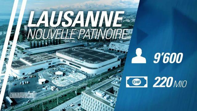 Hockey: Inauguration de la nouvelle patinoire de Lausanne [RTS]