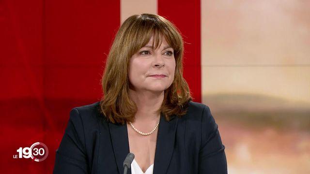"""Verena Nold: """"Si on ne fait rien les primes vont continuer d'augmenter de 3 ou 4% chaque année"""" [RTS]"""