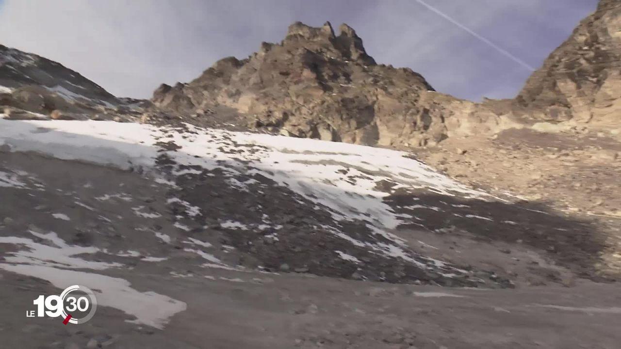 Des funérailles ont été organisées pour le glacier du Pizol dans le canton de Saint-Gall [RTS]