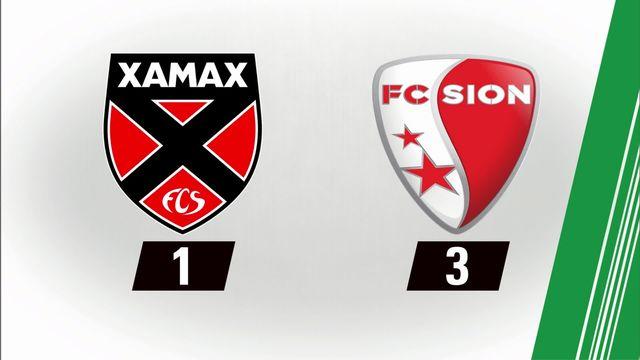 7e journée: Xamax - Sion (1-3) [RTS]