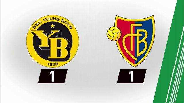 7e journée: Young Boys - Bâle (1-1) [RTS]
