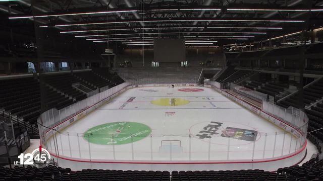 Inauguration de la Vaudoise aréna: après 3 ans de travaux, la nouvelle patinoire accueille demain son premier match. [RTS]