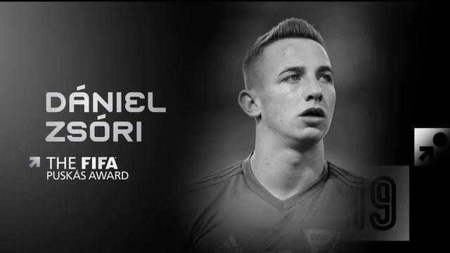 Prix Puskas: Dániel Zsóri élu plus beau but devant Messi et Quintero [RTS]