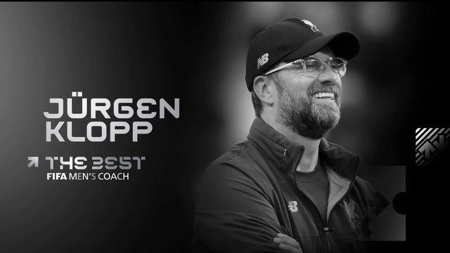 Coach de l'année: Jürgen Klopp titré face à Guardiola et Porchettino [RTS]