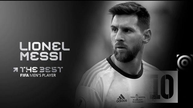 The Best: Lionel Messi titré joueur de l'année 2019 [RTS]
