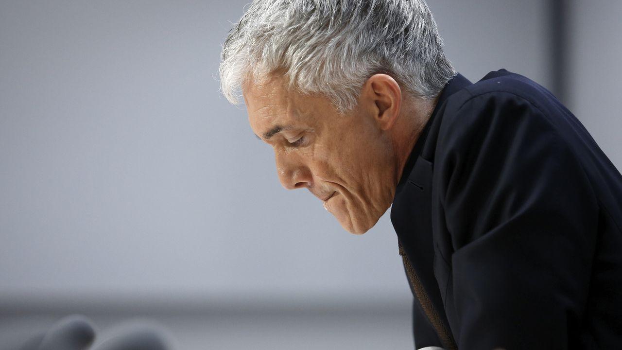 Michael Lauber saura mercredi s'il est reconduit à la tête du MPC. [Peter Klaunzer - Keystone]