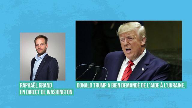 Procédure d'impeachment de Trump: le bras de fer entre républicains et démocrates commence [RTS]
