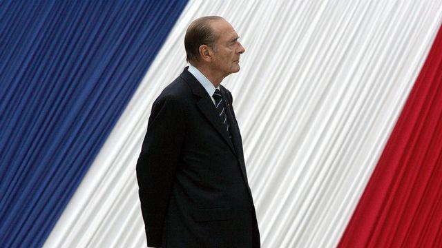 Jacques Chirac, lors d'une cérémonie en hommage aux victimes de l'esclavage, en 2006 à Paris. [/Michel Euler - AP Photo]