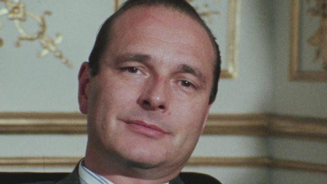 Jacques Chirac en 1975. [RTS]
