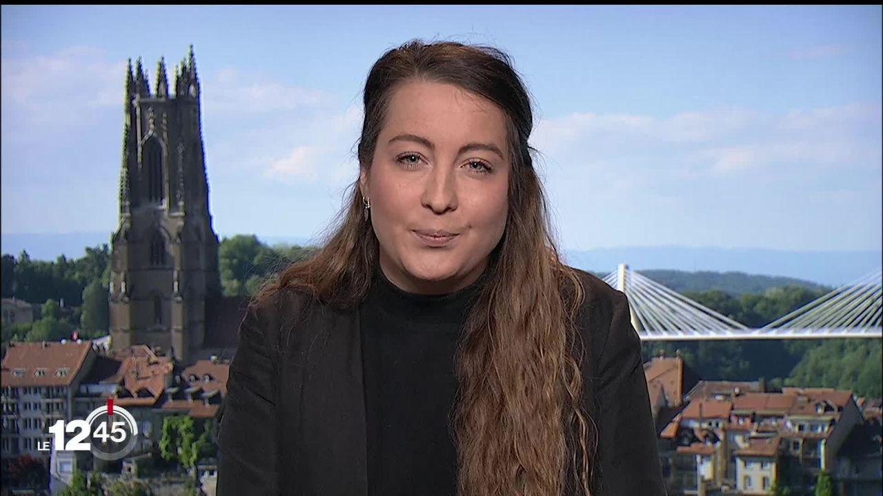 Jeux d'argent et de hasard séduisent 40% des jeunes fribourgeois, explique Clémence Vonlanthen [RTS]