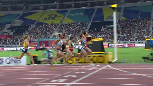800m dames: Lore Hoffmann (SUI) manque la qualification à 6 centièmes [RTS]