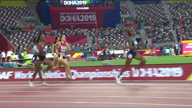 800m dames: Selina Büchel (SUI) termine 6e de sa série [RTS]