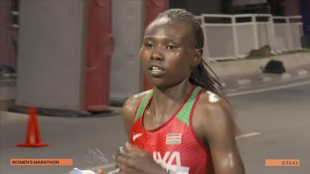 Marathon dames: victoire de Chepngetich (KEN) dans des conditions dantesques [RTS]